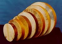 Hand Drums from Harms Historical Percussion